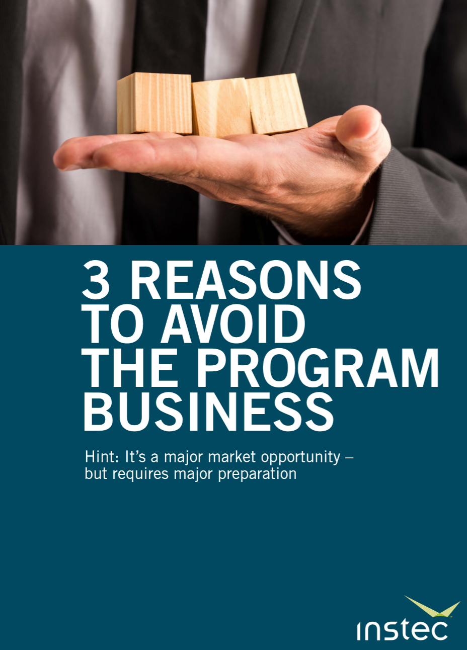 3 Reasons to Avoid the Program Business